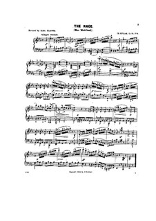 Scenes from Childhood, Op.81: No.6 The race by Theodor Kullak