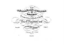 Pieces for Piano, Op.110: livro I by Carl Czerny