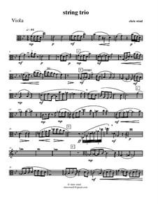 String trio: parte viola by Chris Wind