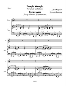Boogie Woogie: para flauta e piano by Ariel Davydov