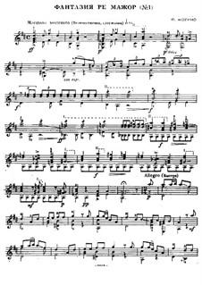 Two Fantasias, Op.13: Fantasia No.1 by Francesco Molino