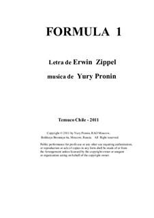 Formula 1: Formula 1 by Yury Pronin