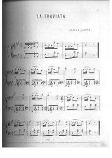 Fragments: Andante. Arranjos para piano by Giuseppe Verdi