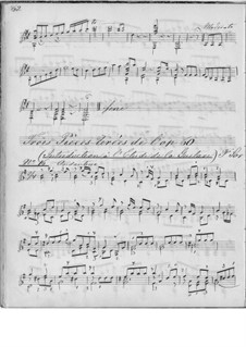 Twenty-Five Progressive Etudes, Op.60: Etudes No.16, 20, 22 by Fernando Sor