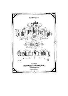 Polkette-Impromptu No.2, Op.23: Polkette-Impromptu No.2 by Constantin Sternberg
