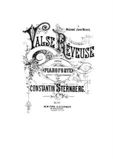 Valse rêveuse, Op.25: Valse rêveuse by Constantin Sternberg