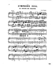 Symphony No.85 in B Flat Major 'The Queen', Hob.I/85: versão para piano by Joseph Haydn
