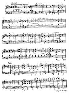 Movement II: para um único musico (Editado por H. Bulow) by Ludwig van Beethoven
