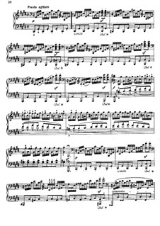 Movement III: para um único musico (Editado por H. Bulow) by Ludwig van Beethoven