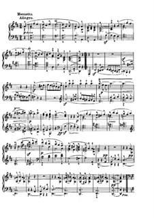 Sonata for Piano No.7, Op.10 No.3: movimento III by Ludwig van Beethoven