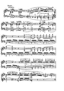 Sonata for Piano No.7, Op.10 No.3: Movimento IV by Ludwig van Beethoven