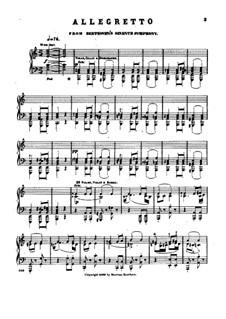 Movement II: versão para piano by Ludwig van Beethoven