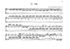 Fugue for Organ No.11 in G Minor: Fugue for Organ No.11 in G Minor by Johann Heinrich Buttstett