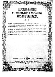 Polka in C Major, Op.29: Polka in C Major by Adolf von Henselt