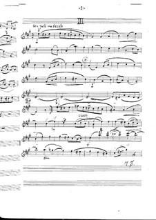 Symphony No.4 in A Major 'Italian', Op.90: Movements III-IV – violin I part by Felix Mendelssohn-Bartholdy