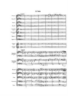 Concerto for Two Pianos and Orchestra in A Flat Major: movimento II by Felix Mendelssohn-Bartholdy