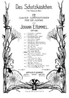 The Treasure Box, Op.486: No.7 The Little Minstrel by Johann E. Hummel