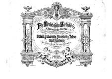 Piano Trios No.1-2, Op.49, 66: versão para piano de quatro mãos by Felix Mendelssohn-Bartholdy