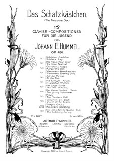 The Treasure Box, Op.486: No.11 Mountain Greeting by Johann E. Hummel