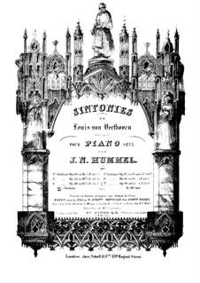 Complete set: versão para piano by Ludwig van Beethoven