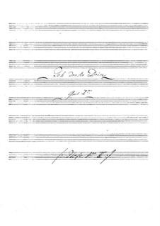 Je pense à toi for Two Guitars: partes by Johann Kaspar Mertz