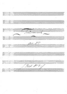Funeral March for Two Guitars: partes by Johann Kaspar Mertz