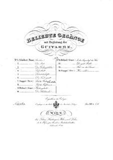 No.10 Das Fischermädchen (The Fisher-Maiden): para voz e guitarra by Franz Schubert