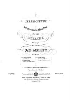 Selected Melodies, for Guitar: melodias selecionadas para guitarra by Vincenzo Bellini