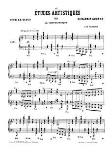 Études artistiques, Op.42: No.12 Le chevaleresque by Benjamin Godard