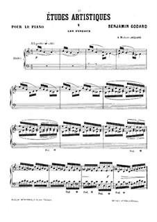 Études artistiques, Op.42: No.5 Les fuseaux by Benjamin Godard