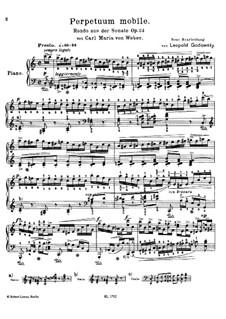 Sonata for Piano No.1 in C Major, J.138 Op.24: Movimento IV by Carl Maria von Weber