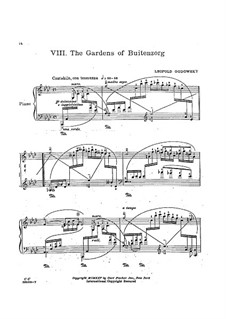 Java Suite: No.8 The Gardens of Buitenzorg by Leopold Godowsky