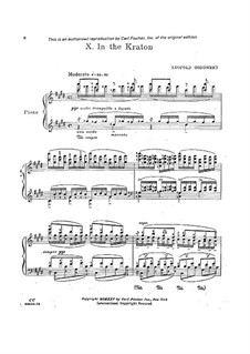 Java Suite: No.10 In the Kraton by Leopold Godowsky