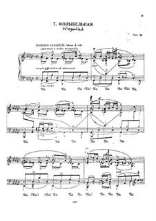 Wiegenlied (Cradle Song), D.498 Op.98 No.2: arranjo para piano by Franz Schubert