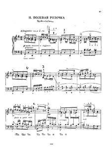 Heidenröslein (Little Hedge Rose), D.257 Op.3 No.3: arranjo para piano by Franz Schubert