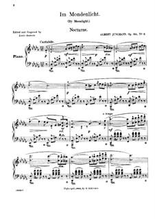 By Moonlight, Op.314, No.2: By Moonlight by Albert Jungmann