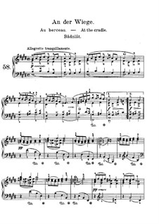 Lyric Pieces, Op.68: No.5 At the Cradle by Edvard Grieg