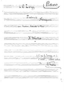 Norwegian Pastorale for Oboe, Cello and Piano: Norwegian Pastorale for Oboe, Cello and Piano by Henry Woollett