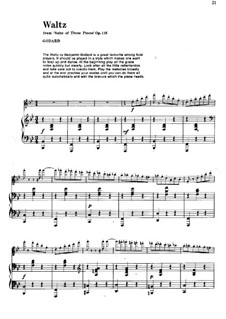 Pieces for Flute and Piano, Op.116: Waltz – score by Benjamin Godard