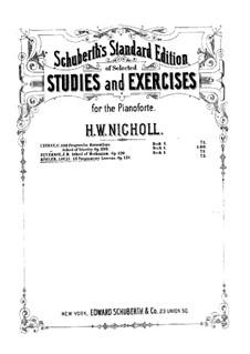 Twelve Easy Studies, Op.151: Para Piano by Louis Köhler