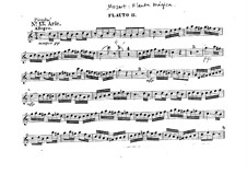 All Feel the Joys of Love: parte flauta piccolo by Wolfgang Amadeus Mozart
