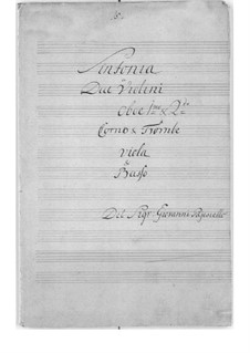 Symphony for Strings and Winds Instruments: Symphony for Strings and Winds Instruments by Giovanni Paisiello