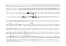 Arpeggio for Viola and Violin, BI 7: Arpeggio for Viola and Violin by Alessandro Rolla