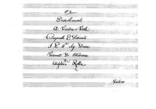 Divertimento for Violin and Viola, BI 79: Divertimento for Violin and Viola by Alessandro Rolla