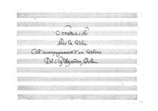 Sonata for Viola and Violin, BI 67: Sonata for Viola and Violin by Alessandro Rolla