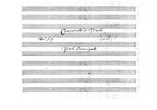 Concerto for Viola and Orchestra in E Flat Major, BI 544: Concerto for Viola and Orchestra in E Flat Major by Alessandro Rolla