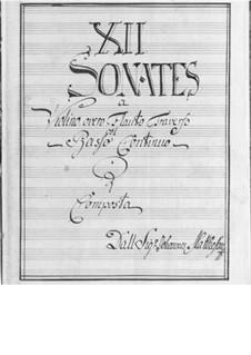 Complete set: set completo by Johann Mattheson