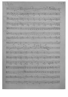 String Octet in E Flat Major, Op.20: Partitura completa by Felix Mendelssohn-Bartholdy