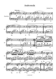 Andromeda – new age piano: Andromeda – new age piano by Gabriele Tosi