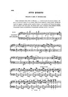 Le prophète (The Prophet): Ato VI by Giacomo Meyerbeer